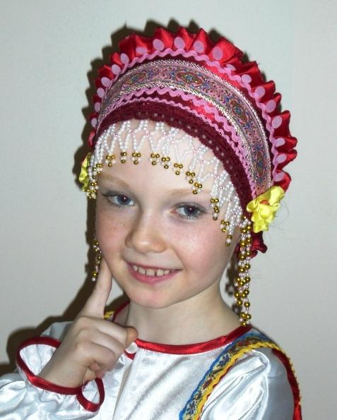 Как сшить повязку на голову к народному костюму 100